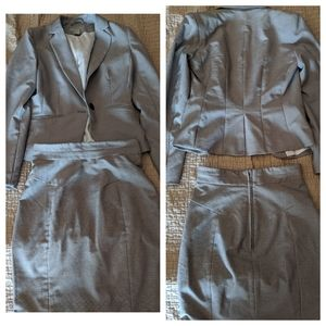 Blazer skirt set